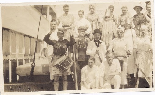 World Travel Shipboard Costume Party early 20th century