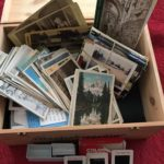 Photos slides and memorabilia scanning service