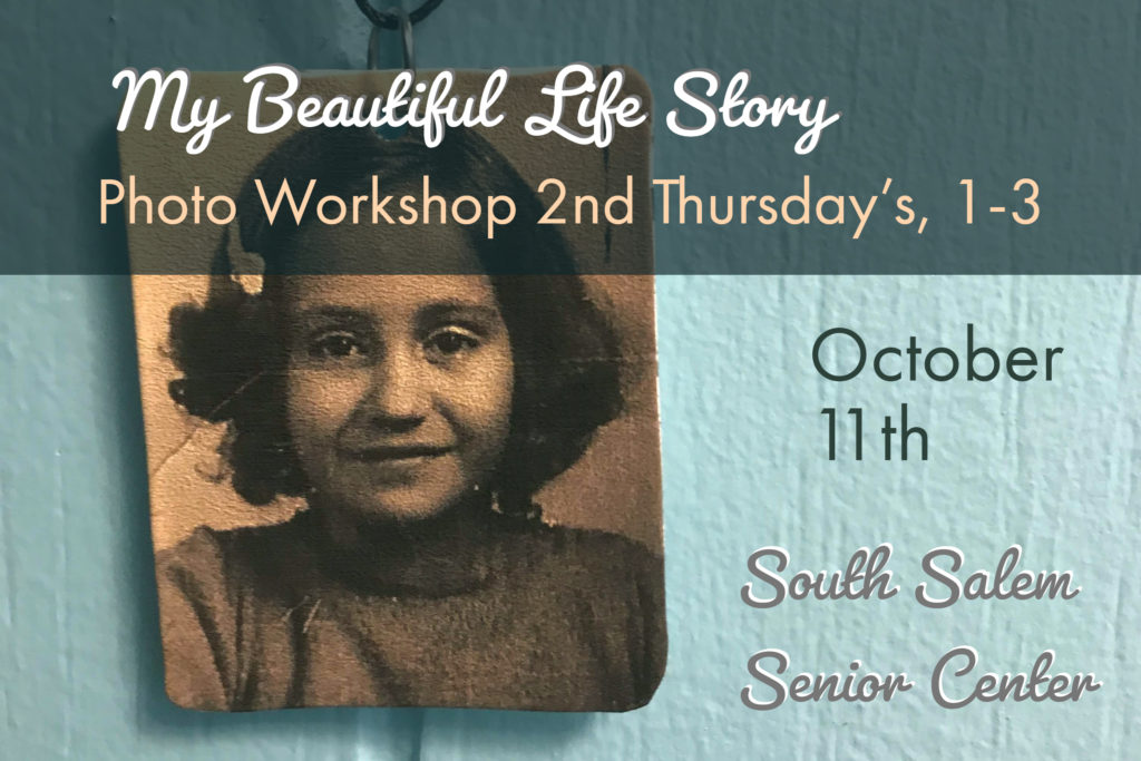 Photo Organizing workshop Thursday October 11, 2018 1-3 pm